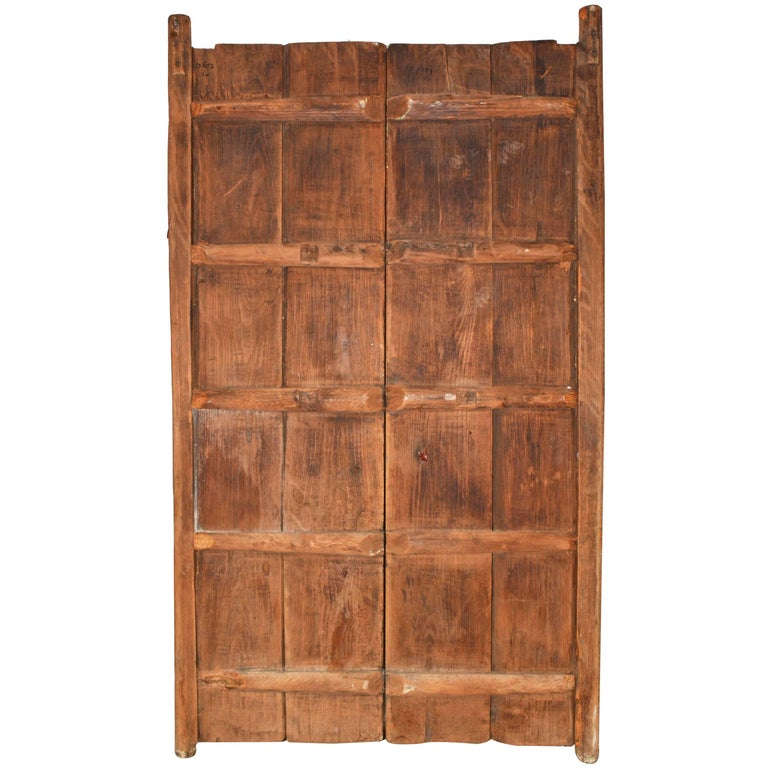 Pair of Rustic Antique Wood Doors