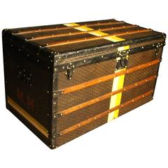 1920s Extra Large Goyard Steamer Trunk