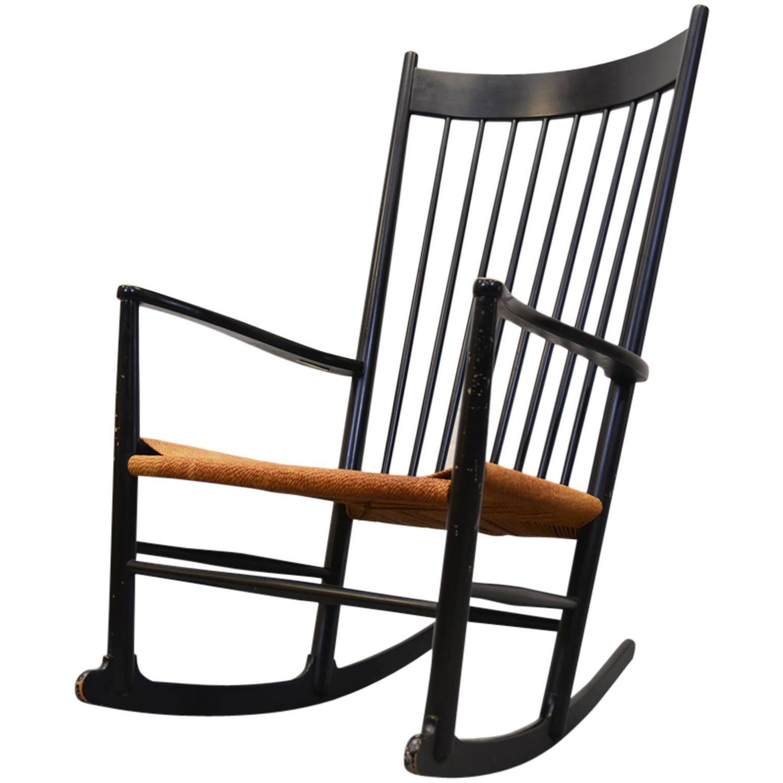 Rocking Chair J16 Hans J Wegner at 1stdibs