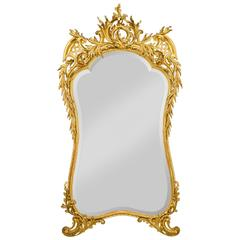 Louis XV Style Gold Leaf Mirror