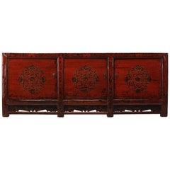 Gangsu Painted Cabinet