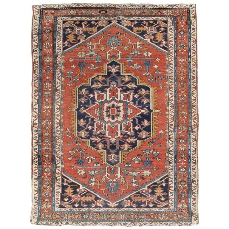 Late 19th Century Red Karaja Carpet
