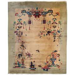 Fantastic Chinese Art Deco Rug