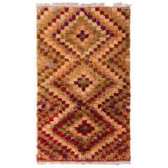 Mid-Century Anatolian Tulu Rug