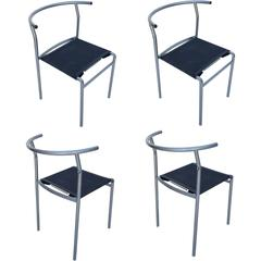 Four Café Staking Chairs by Philippe Starck for Cerruti Baleri