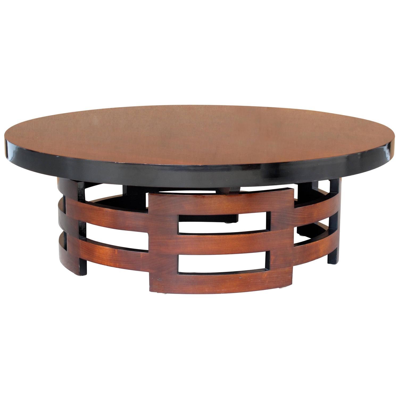 Mid Century Modern Muller And Barringer Coffee Table For Kittinger For
