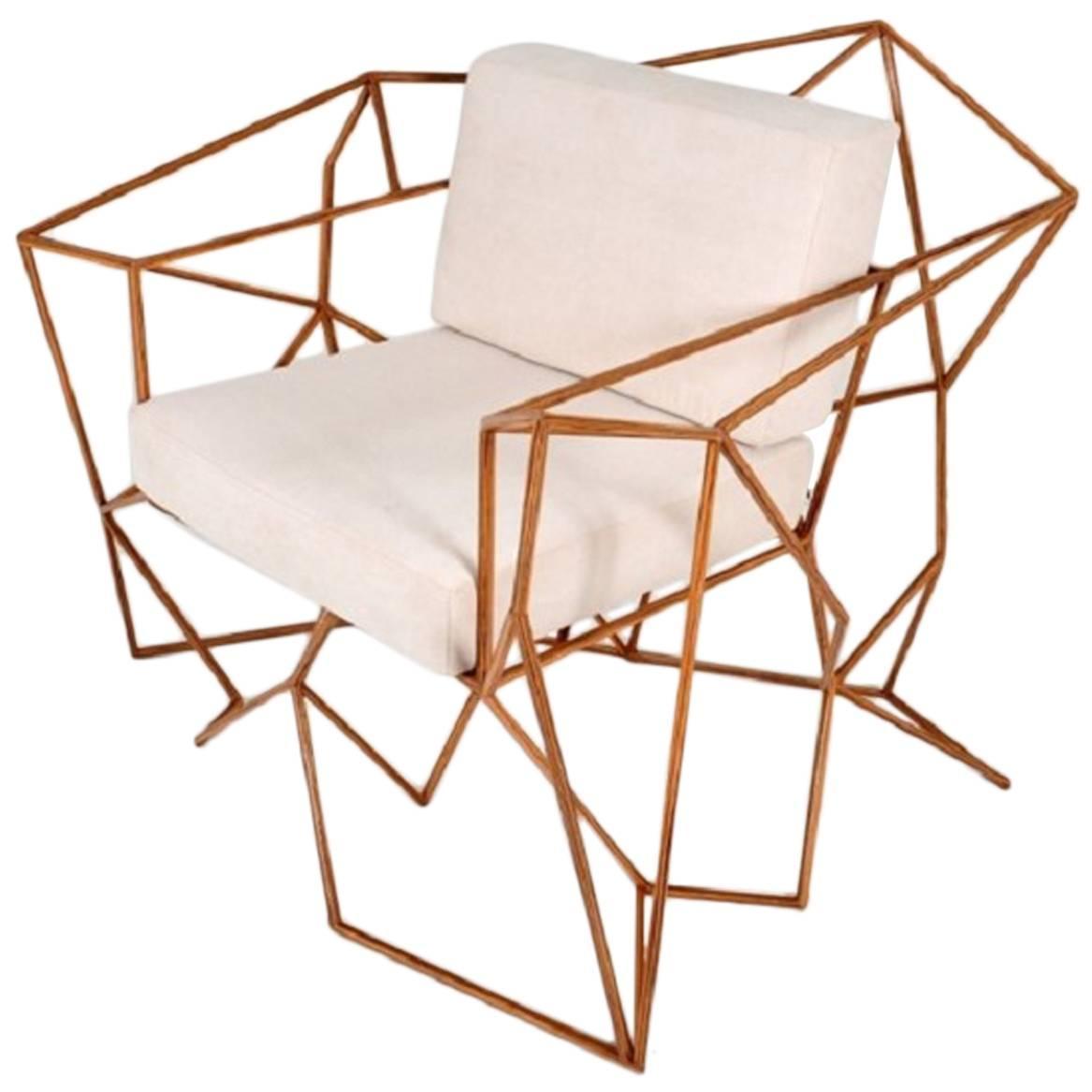 """Eduardo"" Armchair by Leonardo Bueno For Sale at 1stdibs"