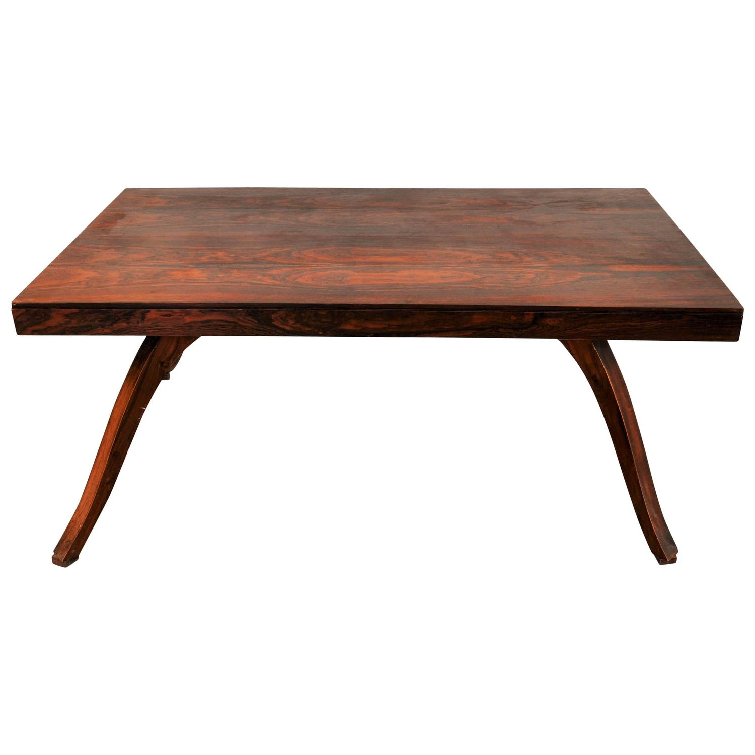 Art Deco Dining Table Made Of Rosewood For Sale At 1stdibs