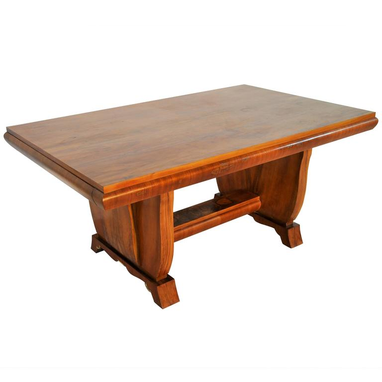 Expandable Art Deco Dining Table from France