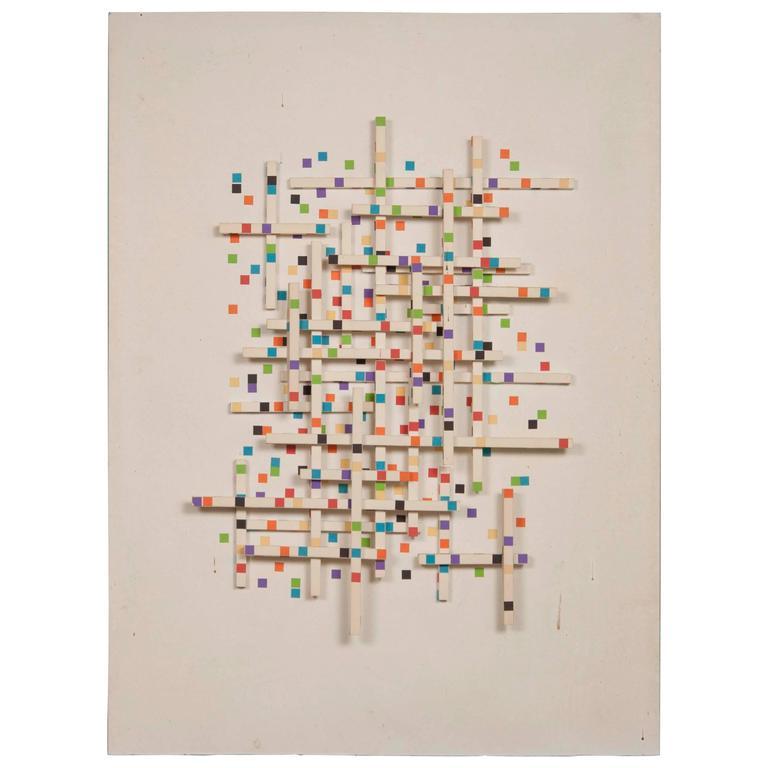 Irving Harper Paper Sculpture 'Untitled'