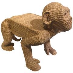 Monkey Ottoman by Mario Lopez Torres