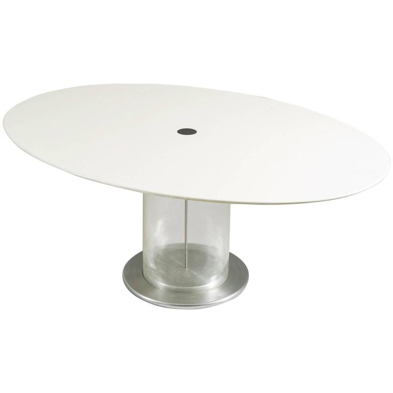 Claudio Salocchi Oval Dining Table for Sormani