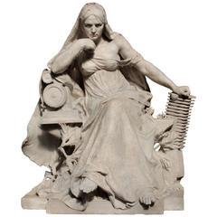 Allegory of Mechanics, Raoul Verlet