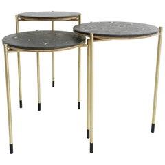 Nesting Side Table Mod. 11—CDV by Veruska Gennari, Unique Piece