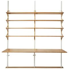 Shelving System Designed by Bruno Mathsson for Karl Mathsson, Sweden