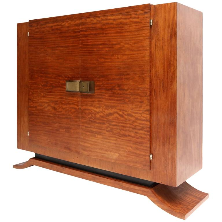 Art Deco Kitchen Cabinets: High-End Art Deco Cabinet At 1stdibs