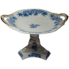 19th Century Ashworth Mason's Blue 'Milieu de Table,' 1880-1900