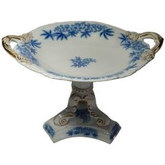 19th Century Ashworth Mason's Blue 'Milieu de Table,' 1880-1900