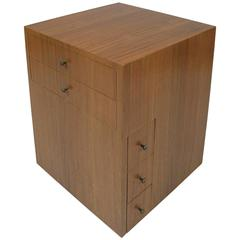 Vintage Modern Revolving Storage Cabinet by Paul McCobb for Directional