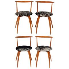 George Nelson Pretzel Dining Chairs
