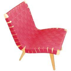 Webbed Knoll Jens Risom Lounge Chair