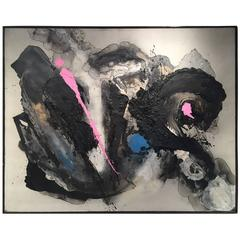 """Taisuke Hamada """"Flow Life"""" Painting Dache Gallery"""