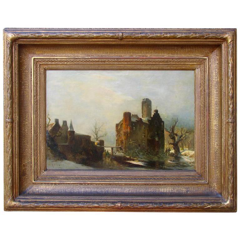 Carl Hilgers Düsseldorf Painting