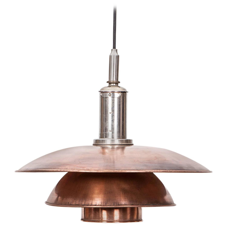 poul henningsen ceiling lamp 4 4 at 1stdibs. Black Bedroom Furniture Sets. Home Design Ideas