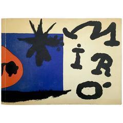 Miró, Das Graphische Werk, the Graphic Work, L'oevre Graphique, 1957