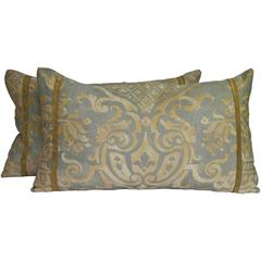 Vintage Fortuny Pillows/Pair by Mary Jane McCarty