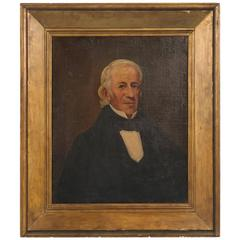 Antique Oil Painting of a Gentleman, circa 1800-1820