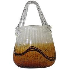 Murano Art Glass Handbag/Purse