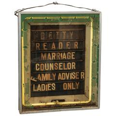 Family Advisor Neon Sign