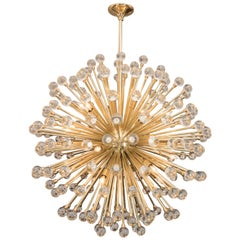 Stunning Huge Murano Glass Ball Sputnik Chandelier