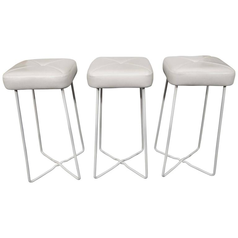 Set of French Barstools For Sale