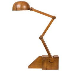 Solid Wood Table Lamp by Paolo Pallucco for Pallucco Roma