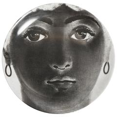 Porcelain Plate by Atelier Fornasetti