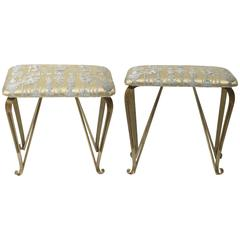 Pair of Italian Footstools