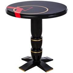 Unique Art Deco Bauhaus Side Table