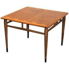 Mid-20th Century Walnut Side Table