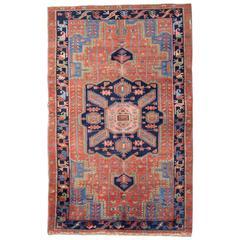 Antique Rugs, Persian Heriz Rug