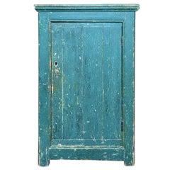 Green Single Door Cupboard