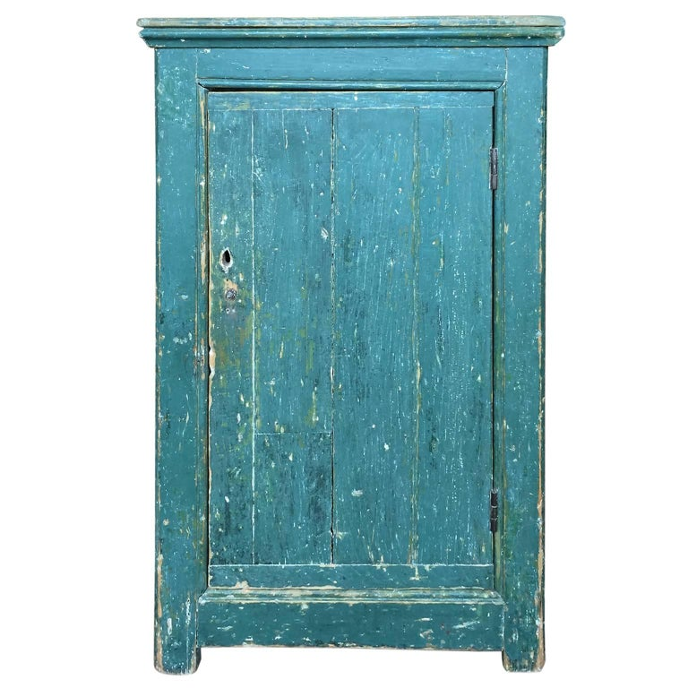 Green Single Door Cupboard For Sale
