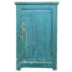 Green Single Door Cupboard
