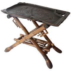 Rare site table, made by Perret-Vibert, Paris, circa  1890
