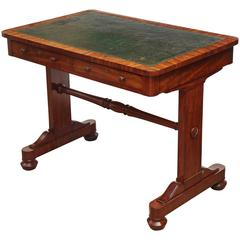 Early 19th Century English, Mahogany and Leather Top Desk by Gillows & Co