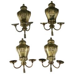 Gilt Bronze Caldwell Sconces
