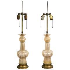Murano Seguso Lamps