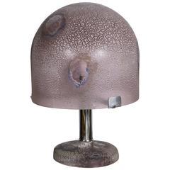 Alfredo Barbini Murano Lamp