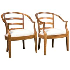 Pair of Baker Armchairs